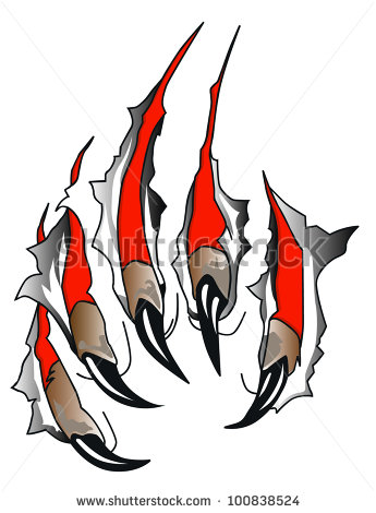 Royalty Free Stock Photos And Images  Claws Scratches Vector