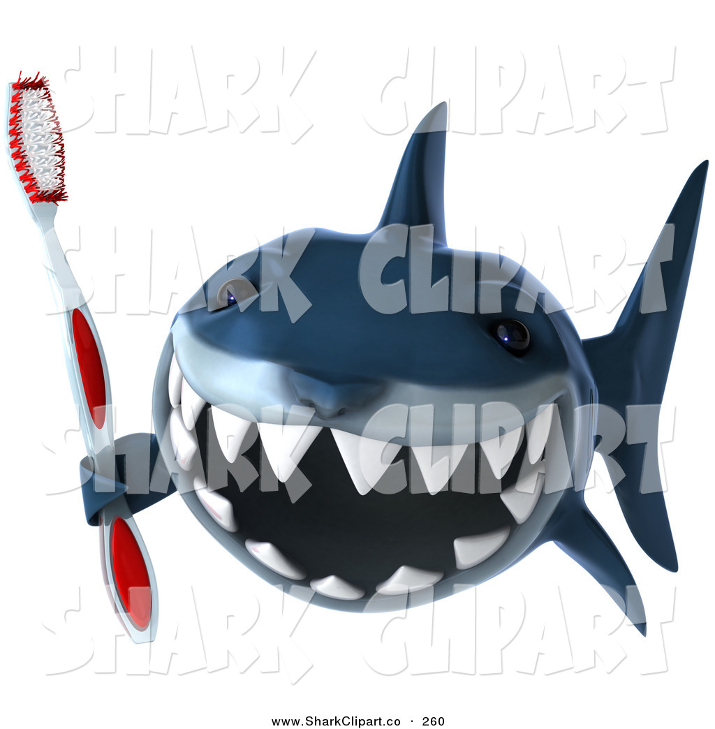 Sharp Teeth Clip Art Http   Sharkclipart Co Design Clip Art Of A 3d