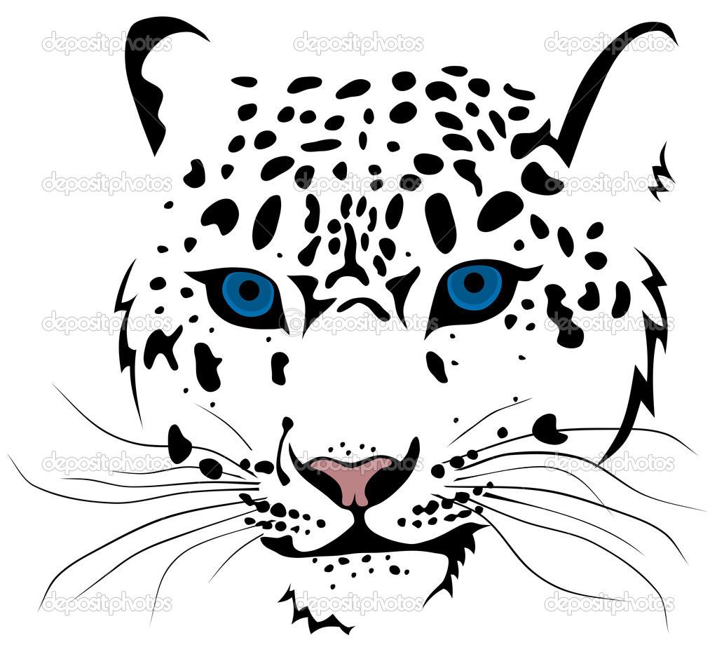 cheetah outline clipart