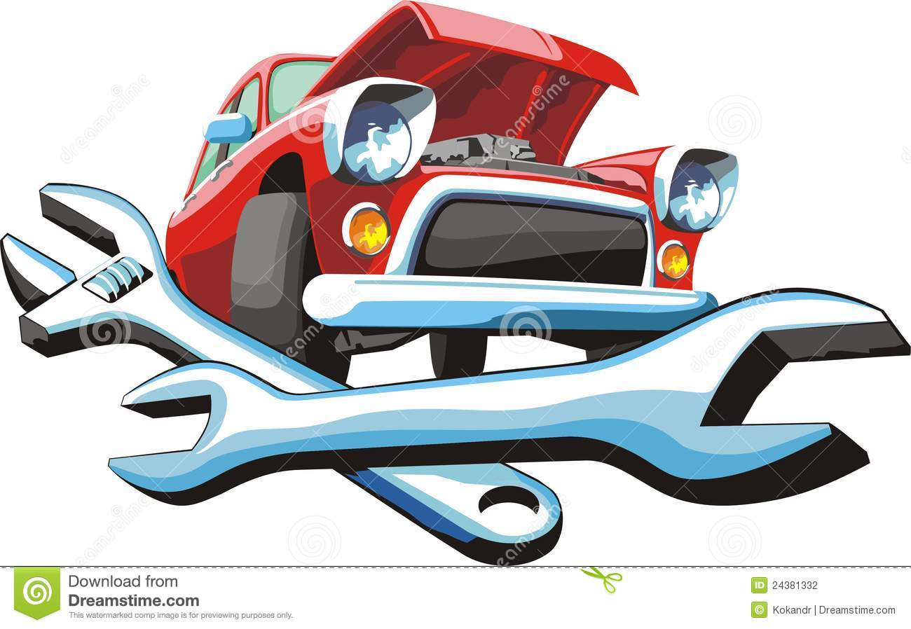 Car Repair Shop Clip Art