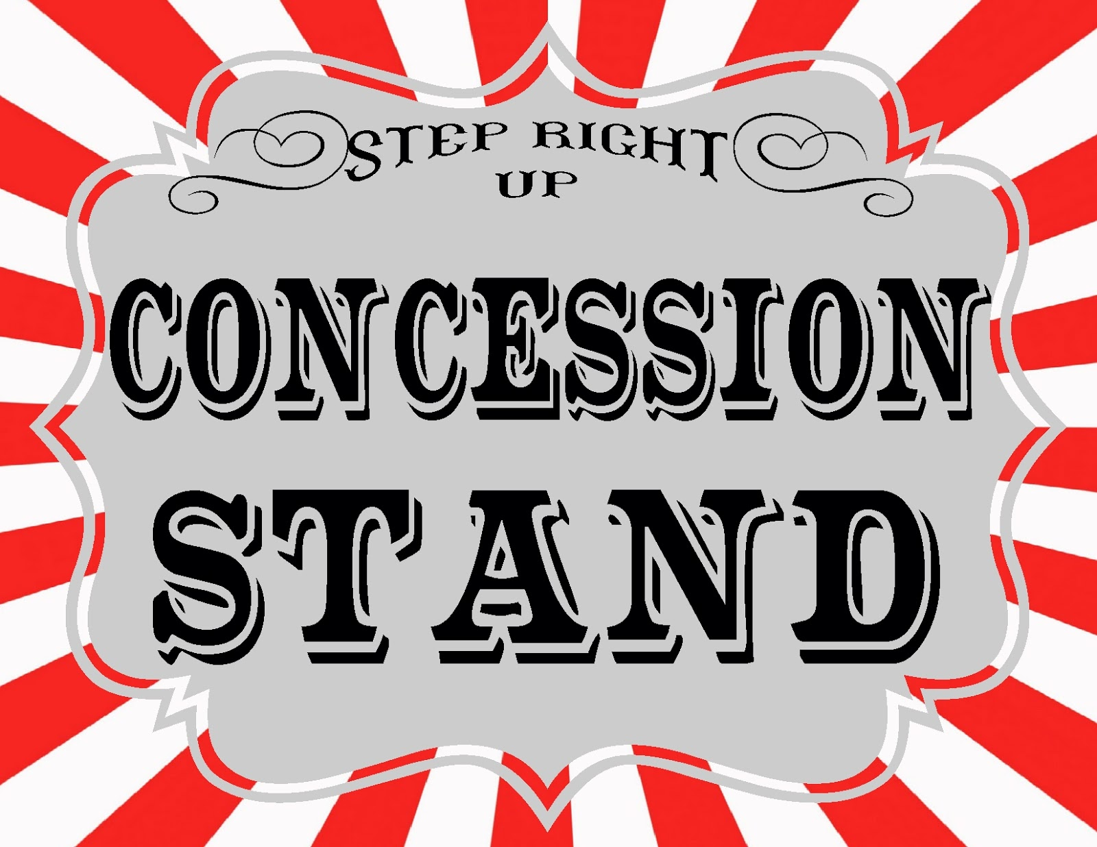 Concession Stand Sign Clipart - Clipart Kid