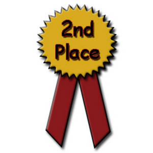 Free Clipart Picture Of A Red And Gold 2nd Place Ribbon  The Ribbon