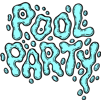 Birthday Pool Party Clipart - Clipart Kid