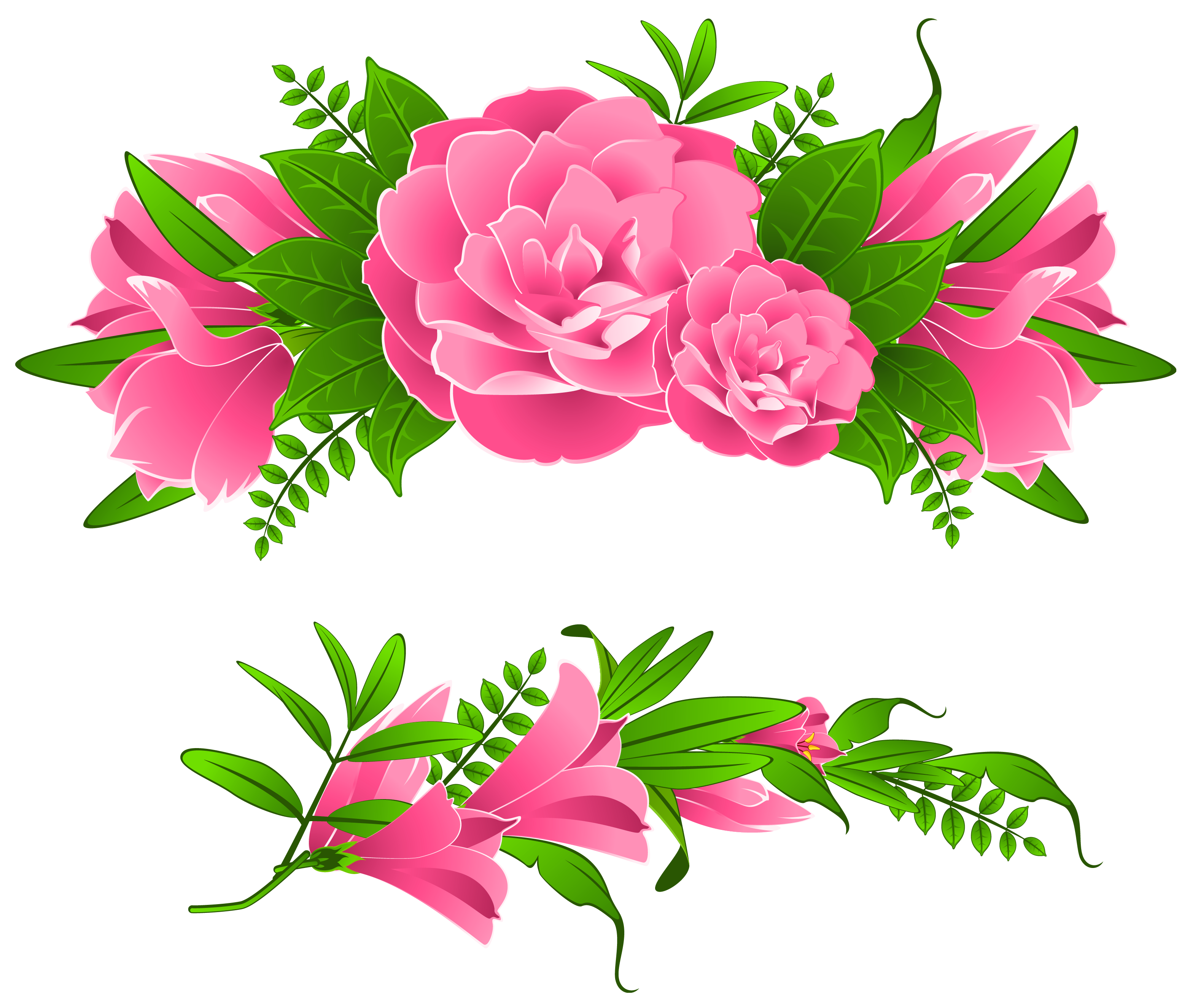 Clip Art Flower Bouquet