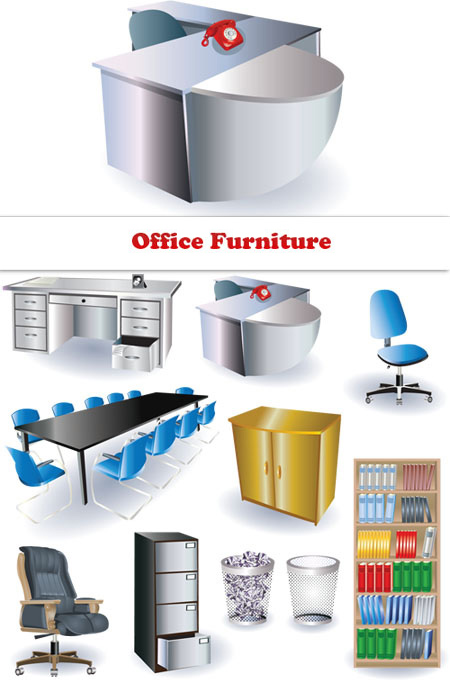 Office Furniture Clipart Clipart Suggest