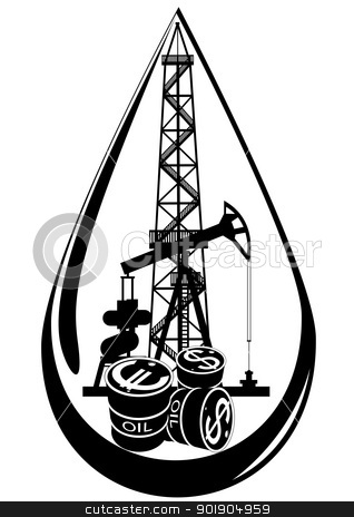 Oil Drilling Rig Clipart - Clipart Kid