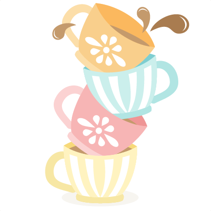 Stack Tea Cup Clipart - Clipart Kid