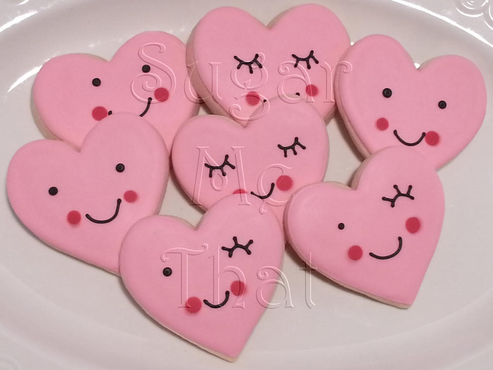 Valentine s day cookies cookie connection