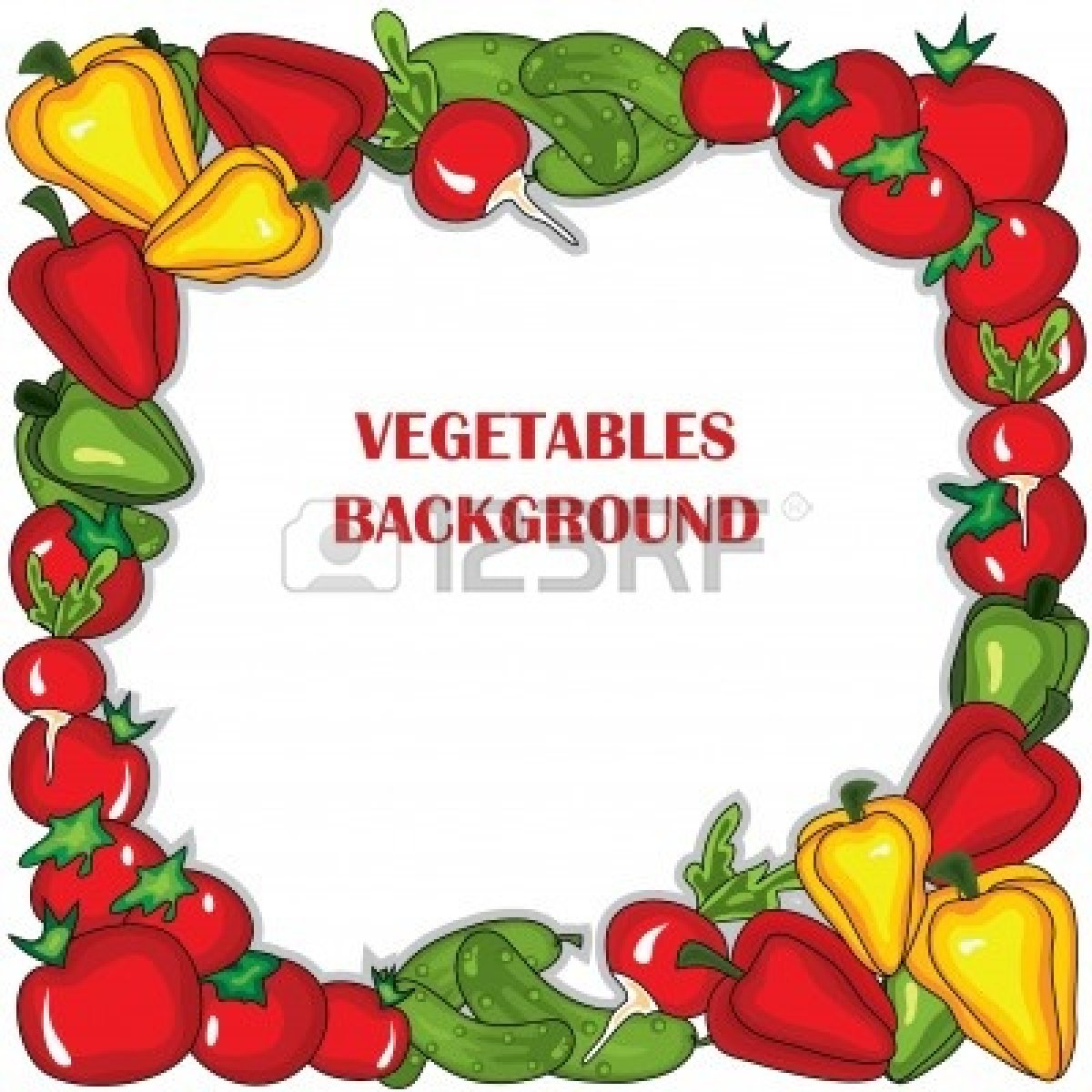 Vegetable Garden Clipart Vegetable Garden Border Clip Artvegetable