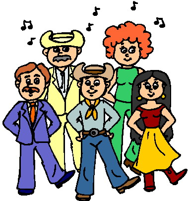 Country Line Dancing Clipart - Clipart Kid