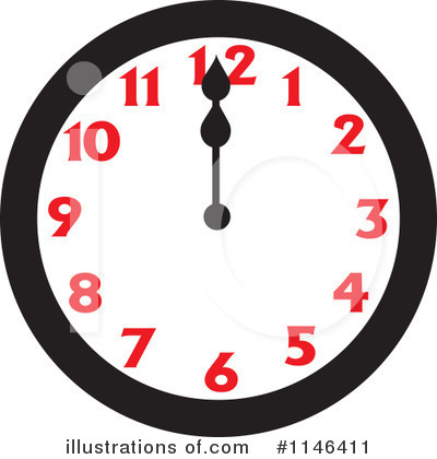 Clock Flying Clipart Royalty Free Picture