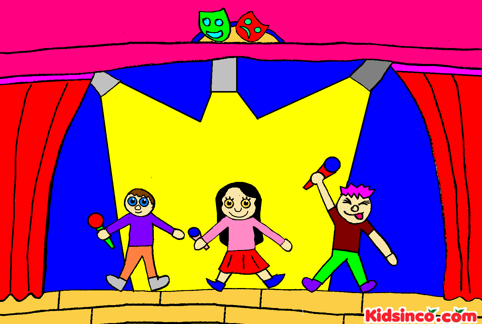 Community Theatre Clipart - Clipart Kid