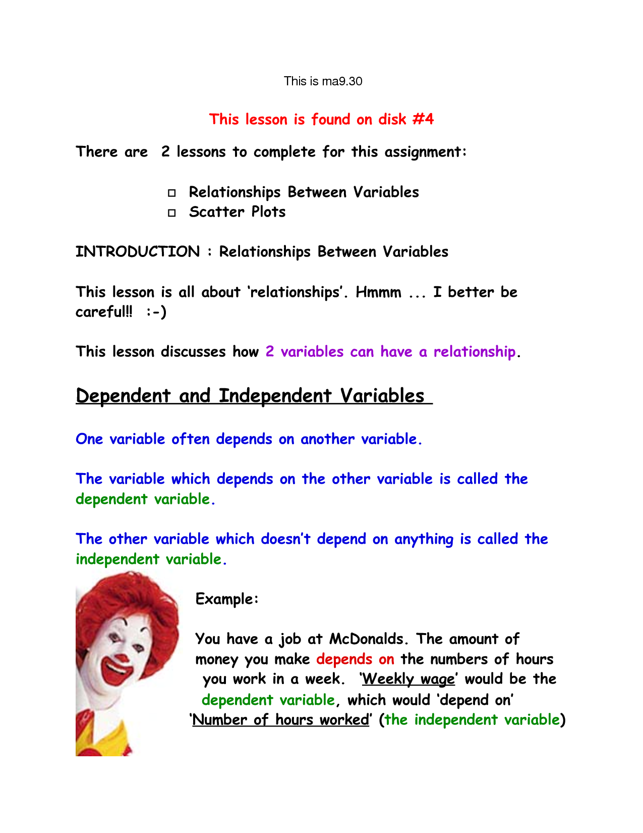 Independent Variable Science Clipart Clipart Kid – Independent Vs Dependent Variable Worksheet
