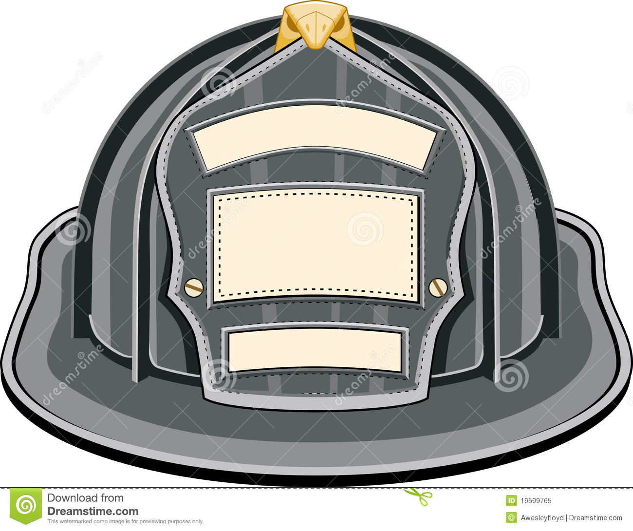 Fire Helmet Shield Clipart - Clipart Kid