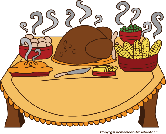 Thanksgiving Feast Clipart Fun And Free Clipart