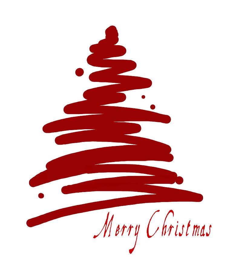 digital art christmas tree - photo #28