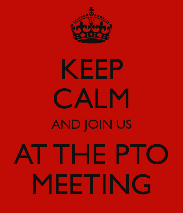 Next Pto Meeting Will Be Wednesday May 13th Form 7 30pm   9 30pm