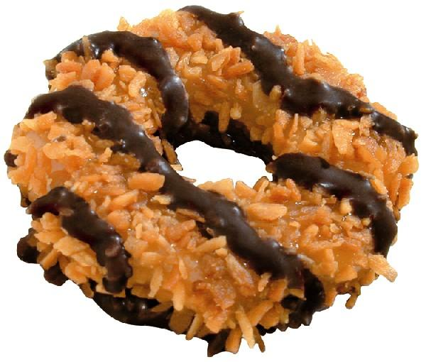 Samoas  The Most Underrated Girl Scout Cookie   Pete Iorizzo