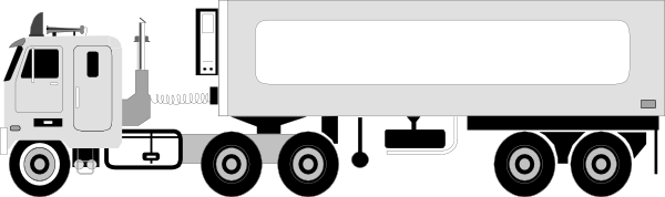Semi Truck Clipart   Item 4   Vector Magz   Free Download Vector