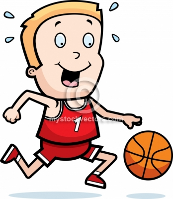 Showing Gallery For Girl And Boy Playing Basketball Clipart