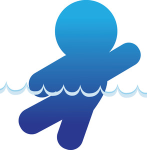 Silhouette Swimmer Clipart - Clipart Kid
