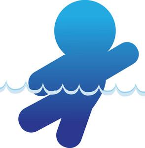Silhouette Swimmer Clipart - Clipart Kid