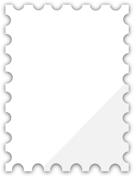 Blank Postage Stamp Template Dedicated To Susi Tekunan By R D