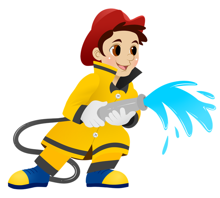 Cute Firefighter Clipart Cute Firefighter Clipart