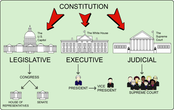 Diagram  Branches Of Government