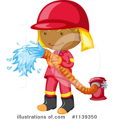 Firefighter Clipart  1139350   Illustration By Colematt