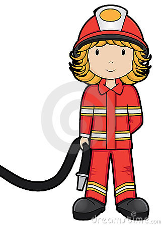 Girl Firefighter Cartoon   Clipart Panda   Free Clipart Images