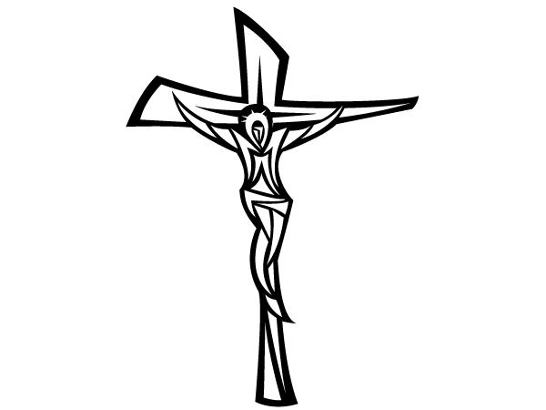 the christ on cross clipart clipart suggest