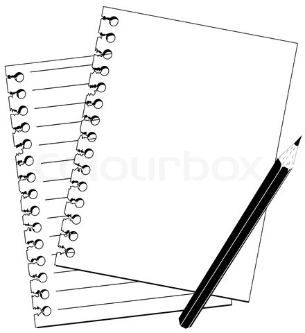 Pencil Writing Clip Art Black And White   Clipart Panda   Free Clipart