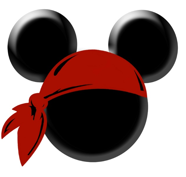 pirate mickey clipart