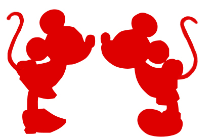 Cliparts Red Mickey Clipart - Clipart Kid