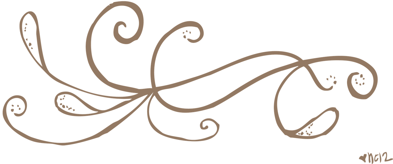 Simple Line Art Designs Png : Teal swirl designs clipart suggest