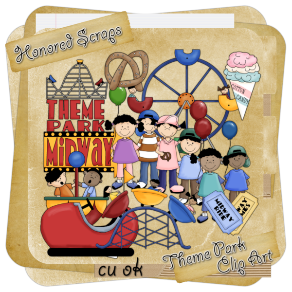 Amusement Park Clipart Gallery Offers 3 Illustrations Of Scenes And