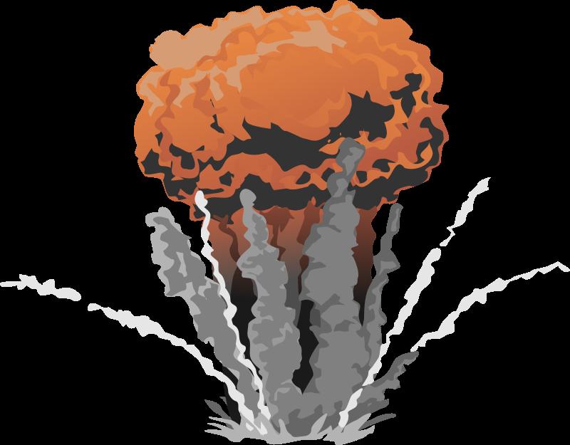 Exploding Bomb Clipart - Clipart Kid