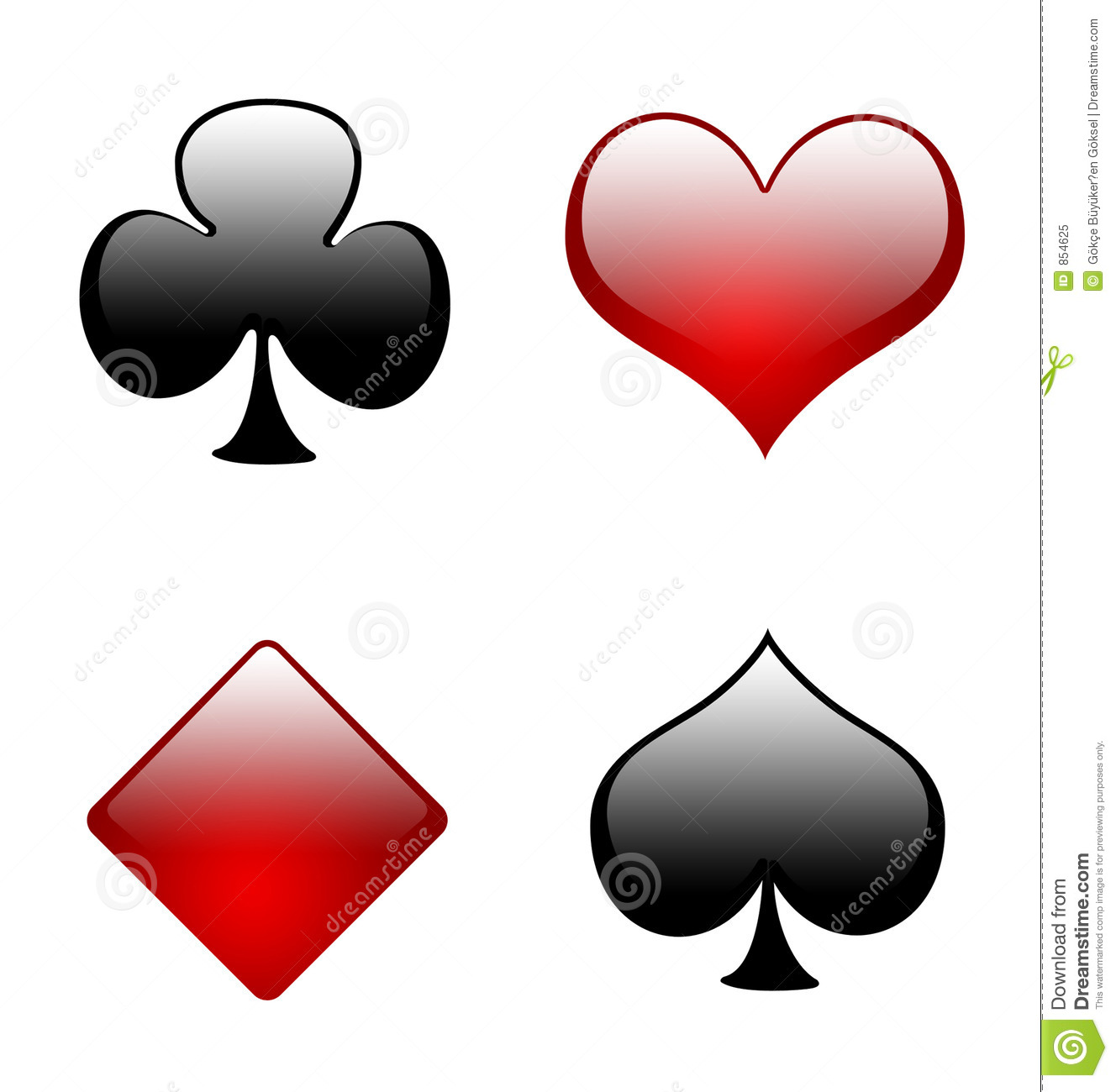 Ace Of Clubs Playing Card Clipart - Clipart Suggest