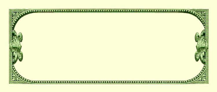 Blank Dollar Bill Http Www Reocities Com Milliondollarpictures