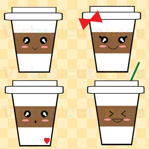 Cute Coffee Clipart - Clipart Kid