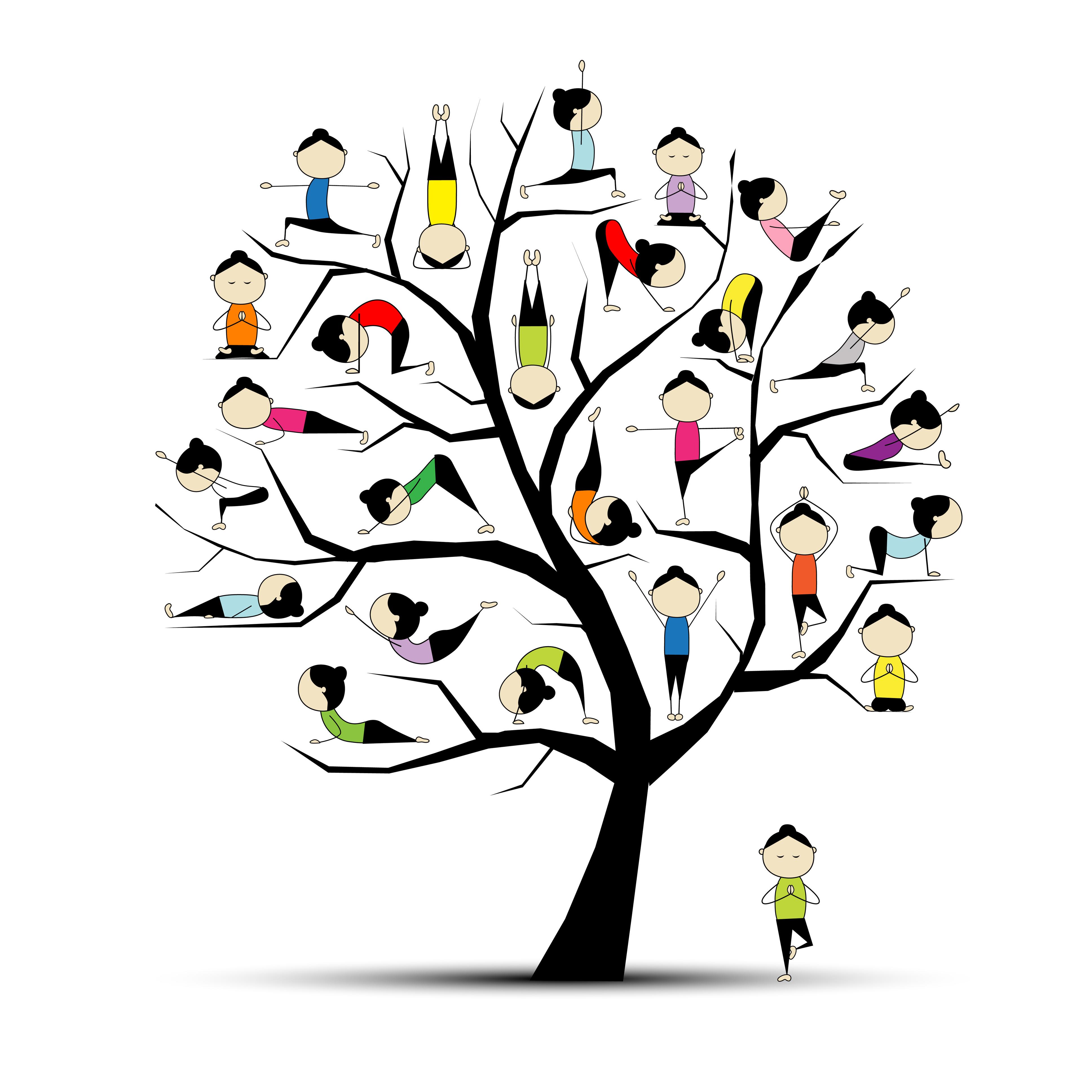 Family Yoga Clipart - Clipart Kid