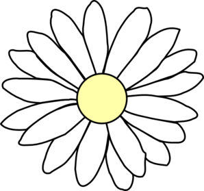 Daisy Clipart Black And White   Clipart Panda   Free Clipart Images