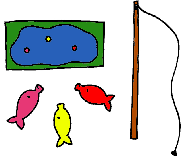 Fish Pond Game Spread Out Fish Around The