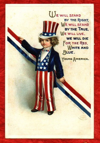 From Vintage Holiday Crafts   Blog Archive   Free Patriotic Vintage
