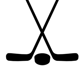 Red Ice Hockey Stick Clipart - Clipart Kid