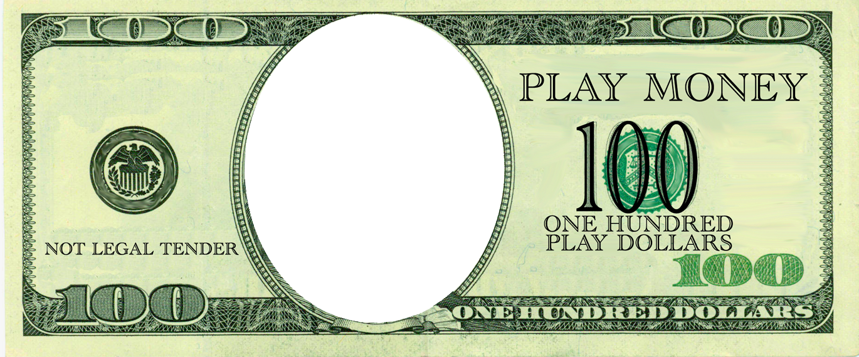 dollar bill template clipart