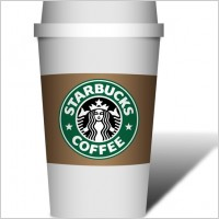 Starbucks Coffee Cup Clip Art