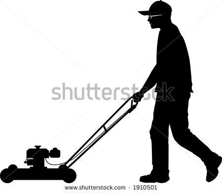 Lawn care silhouette clipart clipart suggest for Lawn care vector
