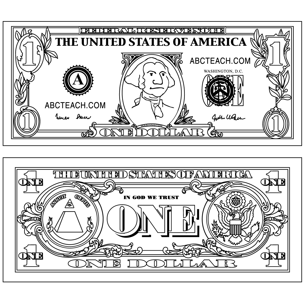 Vector Of Vector Dollar Bills Images   Clipart And Vector Collection
